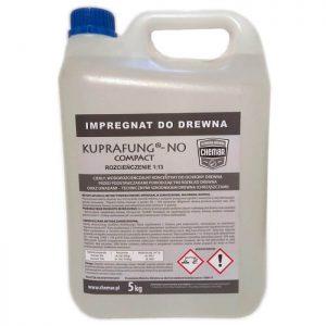 KUPRAFUNG® – NO COMPACT impregnat do drewna konstrukcyjnego więźby dachowej biobójczy