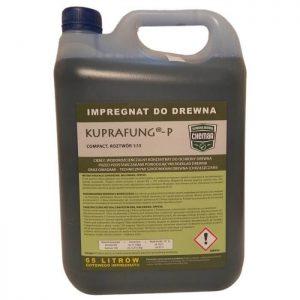 KUPRAFUNG® – P COMPACT impregnat do ochrony drewna konstrukcyjnego więźby przed grzybem zielony 5l