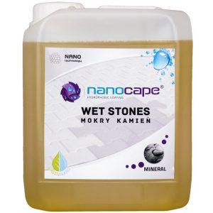 Nanocape Wet Stones impregnat do kostki brukowej i kamienia nadający mokry efekt
