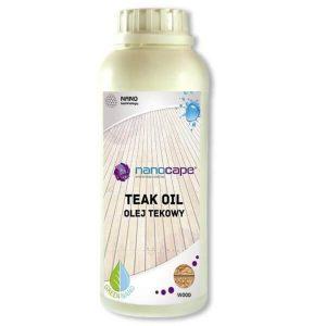 Nanocape Teak Oil olej do ochrony drewna tekowego
