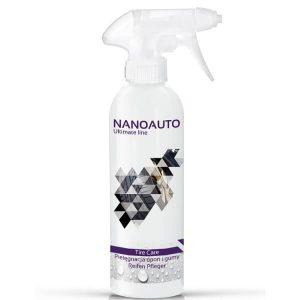 NANOAUTO TIRE CARE preparat do pielęgnacji opon i uszczelek, zapobiega parceniu gumy
