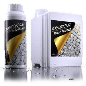 NANOQUICK® BRUK GRANIT impregnat do kostek brukowych granitowych