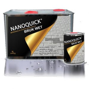 NANOQUICK® BRUK WET impregnat efekt mokrej kostki brukowej
