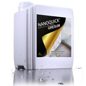 NANOQUICK® GRESUM impregnat hydrofobowy do gresu nieszkliwionego