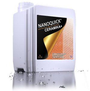 NANOQUICK® CERAMIKA+ czyścik do zabrudzeń z fasad, ceramiki, dachówek i murów.