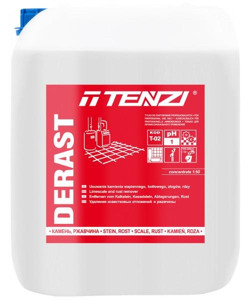 TENZI Derast Bardzo silny środek do odkamieniania i odrdzewiania toalet, urządzeń sanitarnych, posadzek przemysłowych.