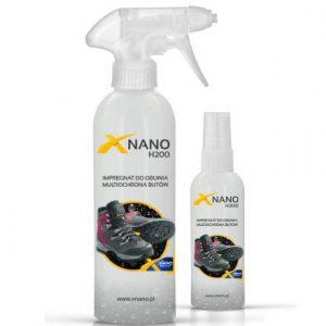 XNANO H200 impregnat do obuwia codziennego i butów trekkingowych ze srebrem