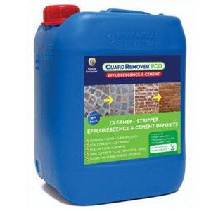 Guard Remover® ekologiczny czyścik do usuwania wykwitów wapiennych i osadów z kostki brukowej, betonu, terkoty i cegły