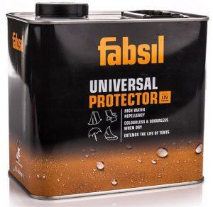 FABSIL UNIVERSAL PROTECTOR LIQUID Impregnat silikonowy do namiotów i zadaszeń markiz brezentu