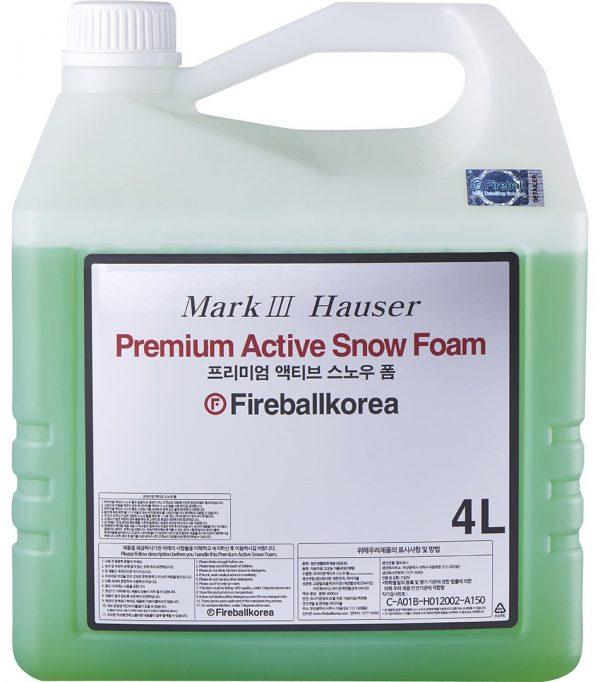 Fireball skoncentrowana aktywna piana Premium Active Snow Foam Olive Green