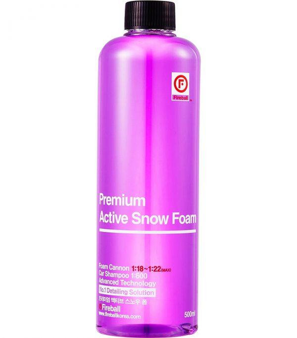 Fireball skoncentrowana aktywna piana o neutralnym Ph Active Snow Foam Purple
