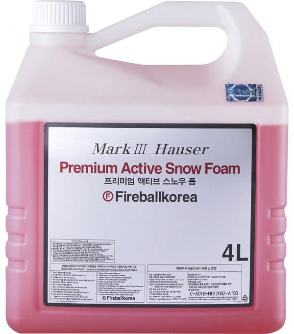 Fireball Aktywna piana do mycia karoserii wysoce skoncentrowana Active Snow Foam Red