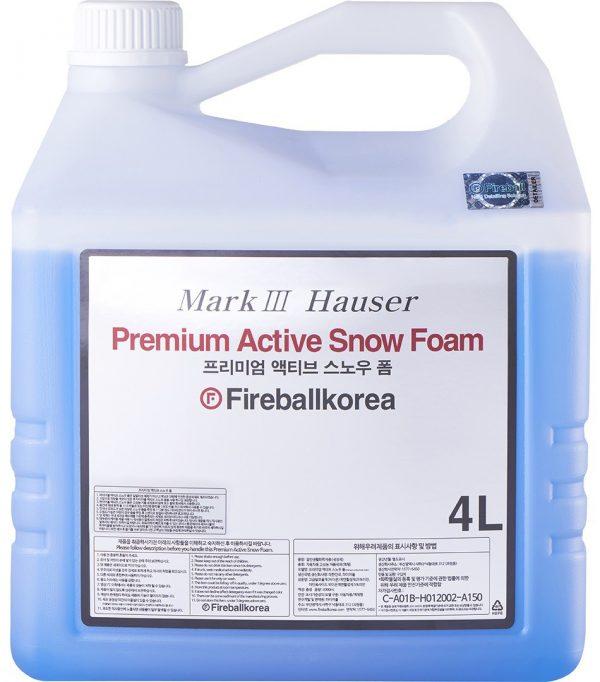 Fireball skoncentrowana aktywna piana do mycia karoserii Premium Active Snow Foam Sky Blue