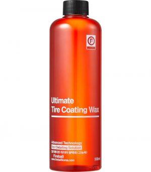 Fireball satynowe wykończenie opon Ultimate Tire Coating Wax Red