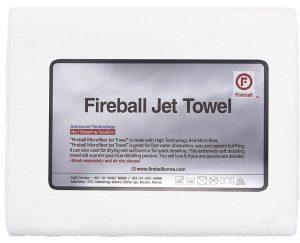 Fireball delikatny ręcznik z mikrofibry do docierania wosków Jet Towel White