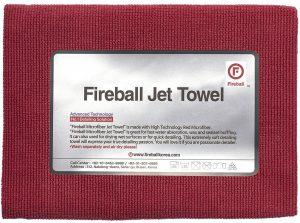 Fireball delikatny ręcznik do mycia szyb i docierania wosków Jet Towel Red