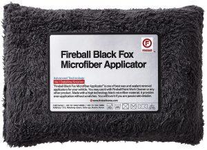 Fireball Aplikator z mikrofibry Black Fox Microfiber