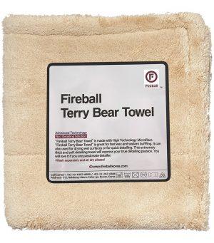 Fireball Super miękki ręcznik z wysokiej jakości Terry Bear Towel