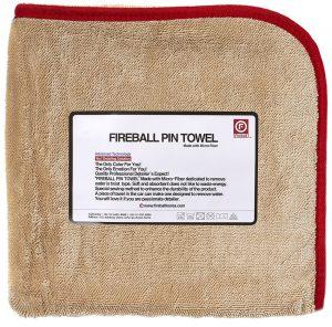 Fireball ręcznik do osuszania pojazdów Pin Towel Red
