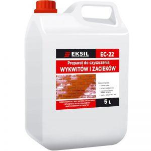 EKSIL EC-22 preparat do czyszczenia wykwitów wapiennych i zacieków z kostki brukowej, betonu i kamienia