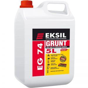 EKSIL EG-74 drobnoziarnisty grunt budowlany do chłonnych powierzchni (KONCENTRAT 1:5)