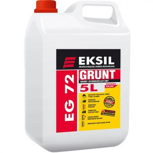 EKSIL EG-72 grunt budowlany impregnujący hydroizolacyjny do posadzek, pod tynki i płytki (KONCENTRAT 1:5)
