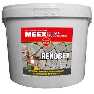 RENOBET impregnat barwiący do kostki brukowej, betonu