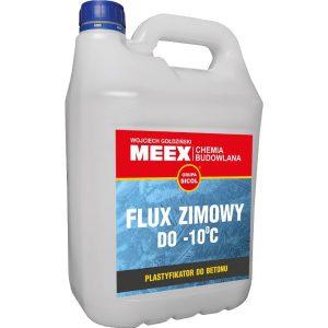 FLUX ZIMOWY domieszka do betonu i zapraw dla ujemnych temperaturach otoczenia (-10°C).