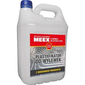 UNIWERSALNY PLASTYFIKATOR DO WYLEWEK do betonów i zapraw ułatwiający poziomowanie