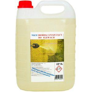 CZYSTA ELEWACJA środek do czyszczenia elewacji, ścian, tynków, kamienia, betonu
