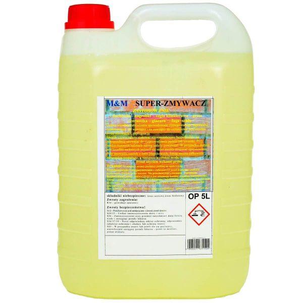 SUPER ZMYWACZ do usuwania, czyszczenia zapraw cementowych
