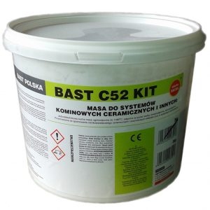 BAST C52 masa do systemów kominowych ceramicznych 1480C