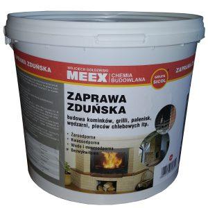 ZAPRAWA ZDUŃSKA zaprawa cementowa do budowy kominków, pieców, wędzarni