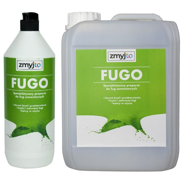 FUGO skuteczny profesjonalny środek do czyszczenia fugi i płytek cermaicznych