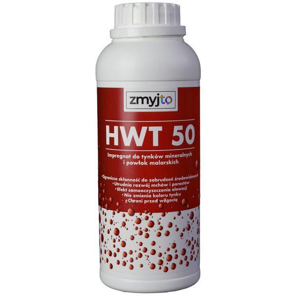 HWT 50 impregnat oleofobowy i hydrofobowy do tynków, fasad, elewacji, powłok malarskich