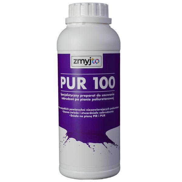 PUR 100 do usuwania zabrudzeń ze świeżej oraz stwardniałej piany poliuteranowej PUR oraz PIR