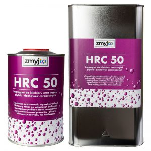HRC 50 impregnat do dachówek ceramicznych, ceramiki, klinkieru, terakoty, kominów