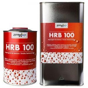 HRB 100 impregnat hydrofobowy do kostki brukowej, betonu, ogrodzeń betonowych