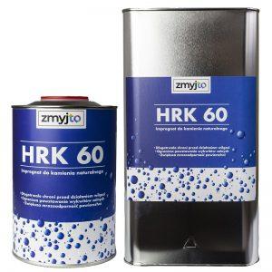 HRK 60 impregnat bezbarwny do niepolerowanego kamienia, piaskowca, wapienia, ogrodzeń, murów
